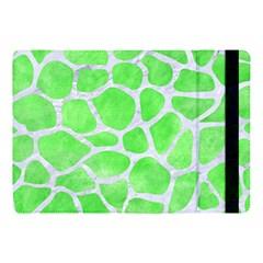 Skin1 White Marble & Green Watercolor (r) Apple Ipad Pro 10 5   Flip Case by trendistuff