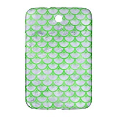 Scales3 White Marble & Green Watercolor (r) Samsung Galaxy Note 8 0 N5100 Hardshell Case
