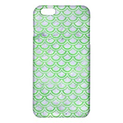 Scales2 White Marble & Green Watercolor (r) Iphone 6 Plus/6s Plus Tpu Case