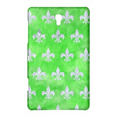 Royal1 White Marble & Green Watercolor (r) Samsung Galaxy Tab S (8 4 ) Hardshell Case