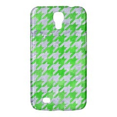 Houndstooth1 White Marble & Green Watercolor Samsung Galaxy Mega 6 3  I9200 Hardshell Case