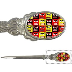 Angry Face Letter Opener