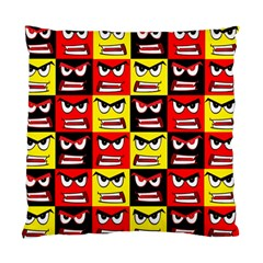 Angry Face Standard Cushion Case (two Sides)