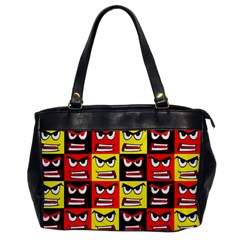 Angry Face Office Handbags