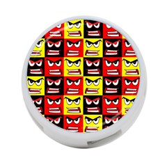 Angry Face 4 Port Usb Hub (two Sides)