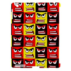 Angry Face Apple Ipad 3/4 Hardshell Case (compatible With Smart Cover)