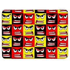 Angry Face Samsung Galaxy Tab 7  P1000 Flip Case