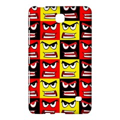Angry Face Samsung Galaxy Tab 4 (7 ) Hardshell Case