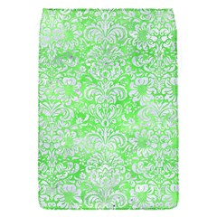 Damask2 White Marble & Green Watercolor Flap Covers (s)