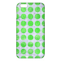 Circles1 White Marble & Green Watercolor (r) Iphone 6 Plus/6s Plus Tpu Case