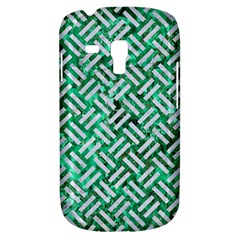 Woven2 White Marble & Green Marble Samsung Galaxy S3 Mini I8190 Hardshell Case