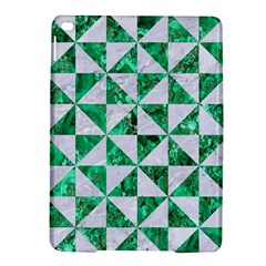 Triangle1 White Marble & Green Marble Ipad Air 2 Hardshell Cases