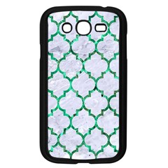 Tile1 (r) White Marble & Green Marble Samsung Galaxy Grand Duos I9082 Case (black)