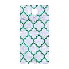 Tile1 (r) White Marble & Green Marble Samsung Galaxy Alpha Hardshell Back Case by trendistuff
