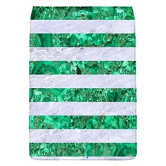 Stripes2 White Marble & Green Marble Flap Covers (s)