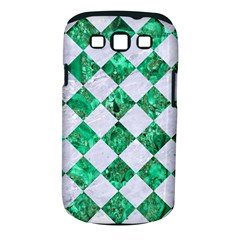 Square2 White Marble & Green Marble Samsung Galaxy S Iii Classic Hardshell Case (pc+silicone)