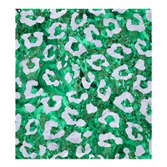Skin5 White Marble & Green Marble (r) Shower Curtain 66  X 72  (large)
