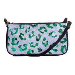 Skin5 White Marble & Green Marble Shoulder Clutch Bags