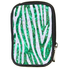 Skin4 White Marble & Green Marble (r) Compact Camera Cases by trendistuff