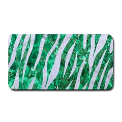 Skin3 White Marble & Green Marble Medium Bar Mats