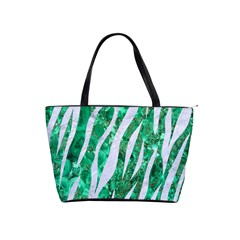 Skin3 White Marble & Green Marble Shoulder Handbags