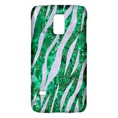 Skin3 White Marble & Green Marble Samsung Galaxy S5 Mini Hardshell Case