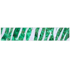 Skin3 White Marble & Green Marble Large Flano Scarf