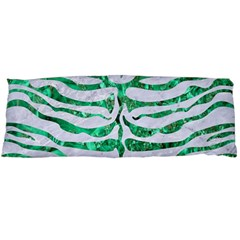 Skin2 White Marble & Green Marble (r) Body Pillow Case (dakimakura)