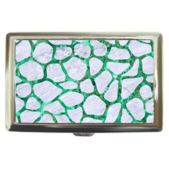 Skin1 White Marble & Green Marble Cigarette Money Cases