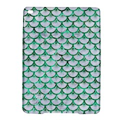 Scales3 White Marble & Green Marble (r) Ipad Air 2 Hardshell Cases