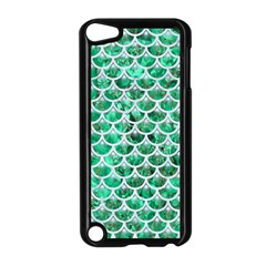 Scales3 White Marble & Green Marble Apple Ipod Touch 5 Case (black)