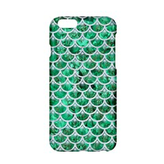 Scales3 White Marble & Green Marble Apple Iphone 6/6s Hardshell Case