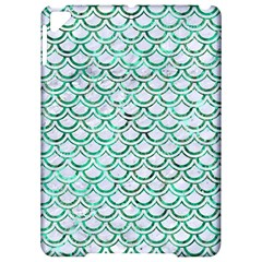 Scales2 White Marble & Green Marble (r) Apple Ipad Pro 9 7   Hardshell Case