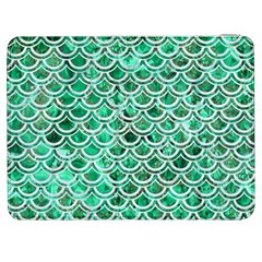 Scales2 White Marble & Green Marble Samsung Galaxy Tab 7  P1000 Flip Case