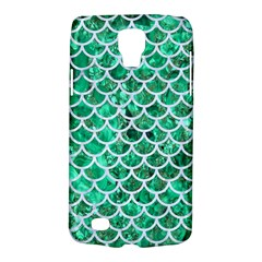 Scales1 White Marble & Green Marble Samsung Galaxy S4 Active (i9295) Hardshell Case