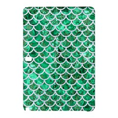 Scales1 White Marble & Green Marble Samsung Galaxy Tab Pro 12 2 Hardshell Case