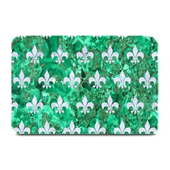 Royal1 White Marble & Green Marble (r) Plate Mats by trendistuff