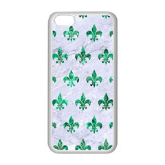 Royal1 White Marble & Green Marble Apple Iphone 5c Seamless Case (white)