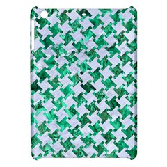 Houndstooth2 White Marble & Green Marble Apple Ipad Mini Hardshell Case by trendistuff