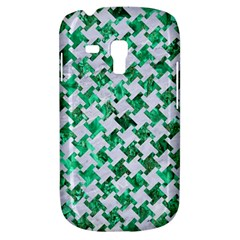 Houndstooth2 White Marble & Green Marble Samsung Galaxy S3 Mini I8190 Hardshell Case
