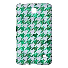 Houndstooth1 White Marble & Green Marble Samsung Galaxy Tab 4 (7 ) Hardshell Case