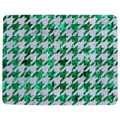 Houndstooth1 White Marble & Green Marble Jigsaw Puzzle Photo Stand (rectangular)