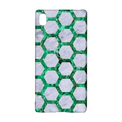 Hexagon2 White Marble & Green Marble (r) Sony