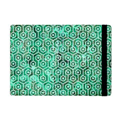 Hexagon1 White Marble & Green Marble Apple Ipad Mini Flip Case
