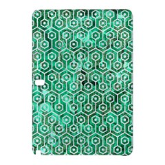 Hexagon1 White Marble & Green Marble Samsung Galaxy Tab Pro 12 2 Hardshell Case
