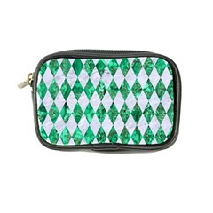 Diamond1 White Marble & Green Marble Coin Purse