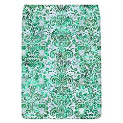 Damask2 White Marble & Green Marble (r) Flap Covers (l)  by trendistuff