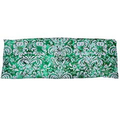 Damask2 White Marble & Green Marble Body Pillow Case (dakimakura)