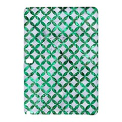 Circles3 White Marble & Green Marble (r) Samsung Galaxy Tab Pro 10 1 Hardshell Case