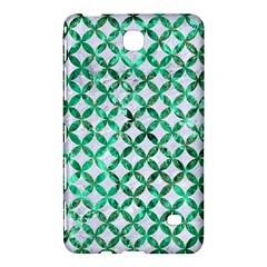 Circles3 White Marble & Green Marble (r) Samsung Galaxy Tab 4 (7 ) Hardshell Case